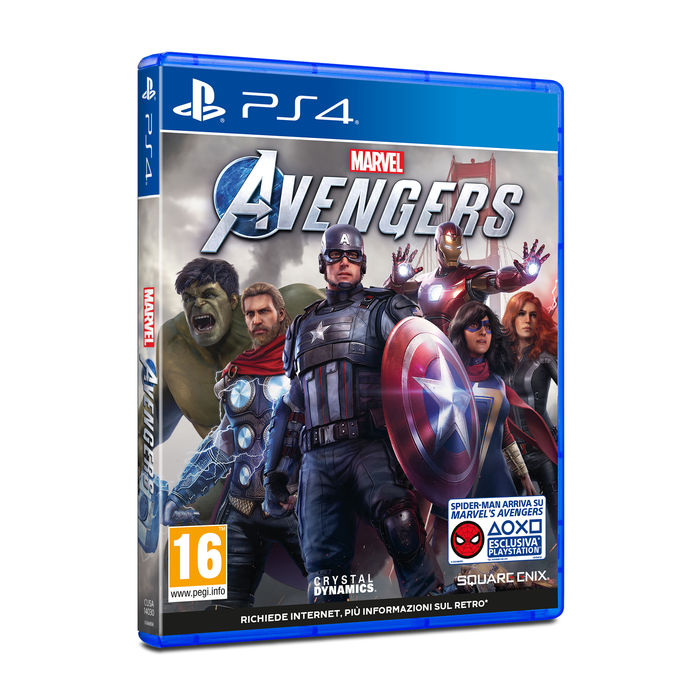 PREVENDITA Marvel's Avengers - PS4 - thumb - MediaWorld.it