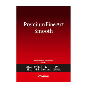 CANON CARTA PREMIUM FINE ART SM A3 25FG - MediaWorld.it