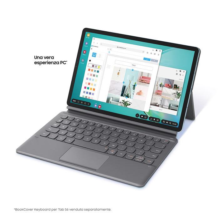 SAMSUNG Galaxy Tab S6 Lte Dark Grey 256 GB - thumb - MediaWorld.it