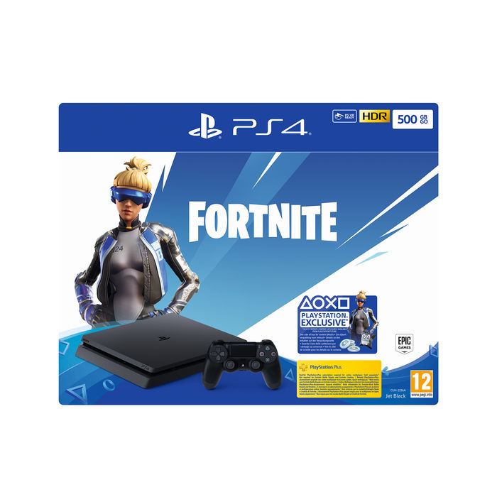 SONY PS4 500 GB + Fortnite VCH(19) - thumb - MediaWorld.it