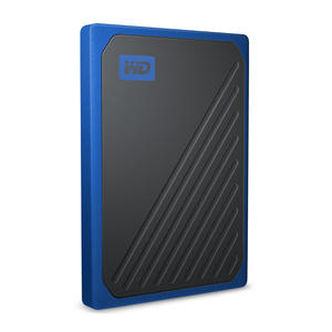 WD My Passport Go SSD Portatile, 500 GB, Blu Cobalto - MediaWorld.it