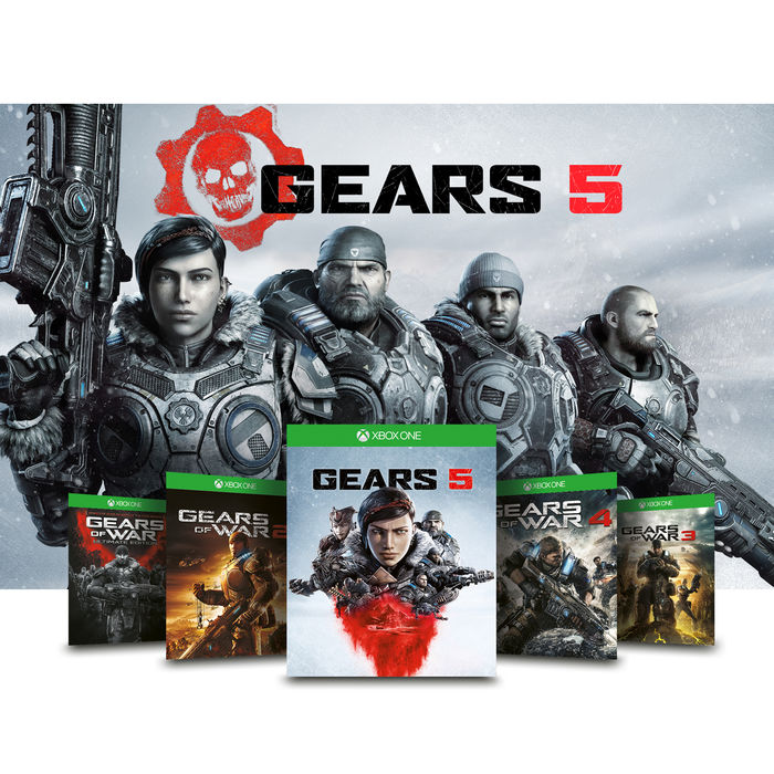 MICROSOFT Xbox One S 1TB + Gears 5 - thumb - MediaWorld.it