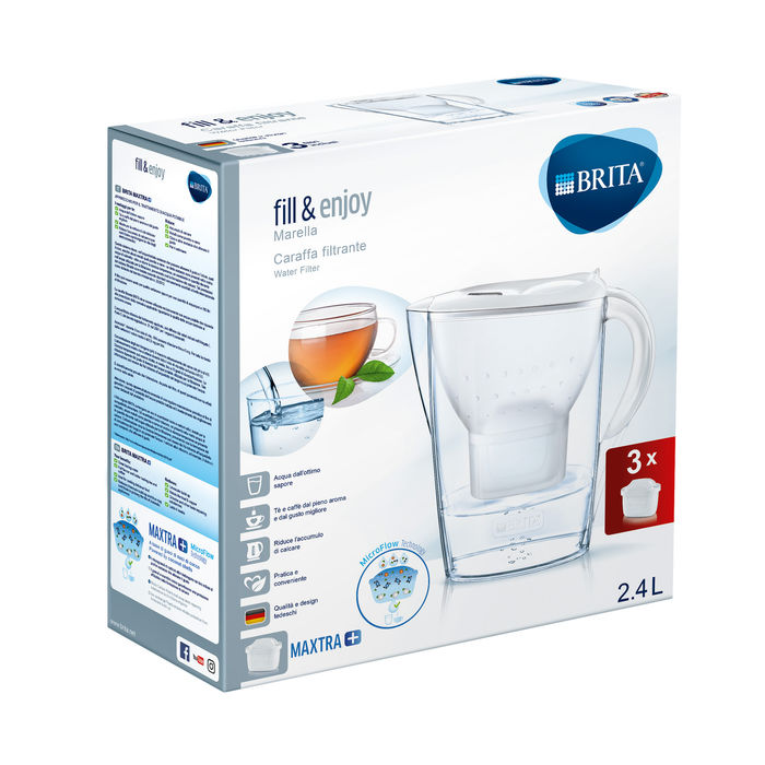 BRITA MARELLA + 3 Pack - thumb - MediaWorld.it