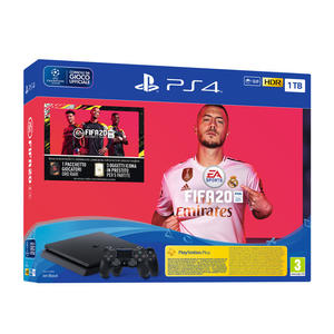 SONY PS4 BLACK 1TB + FIFA20 + DS4 - MediaWorld.it