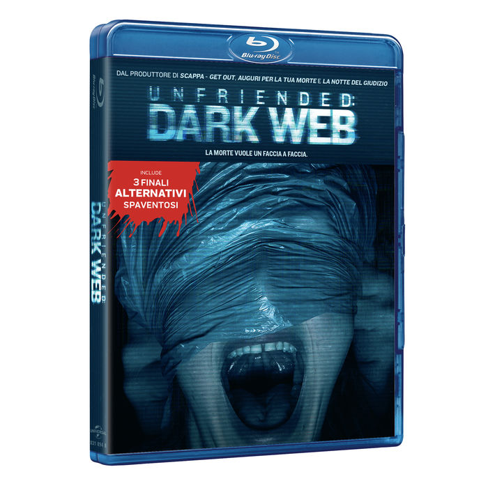 Unfriended: Dark Web - Blu-Ray - thumb - MediaWorld.it
