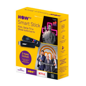 NOW TV Smart Stick con i primi 3 mesi a scelta tra Cinema oppure Serie TV e Intrattenimento - thumb - MediaWorld.it