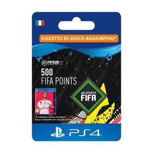 SONY Card PS4 FIFA 20 500 punti - thumb - MediaWorld.it