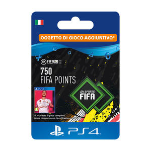 SONY Card PS4 FIFA 20 750 punti - thumb - MediaWorld.it