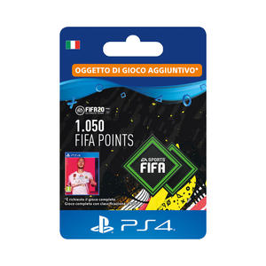 SONY Card PS4 FIFA 20 1050 punti - MediaWorld.it