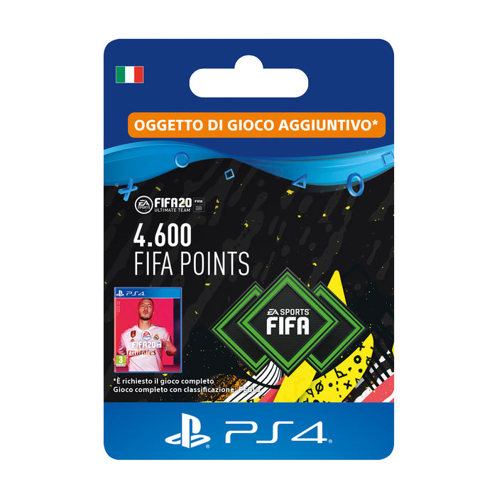 SONY Card PS4 FIFA 20 4600 punti - thumb - MediaWorld.it