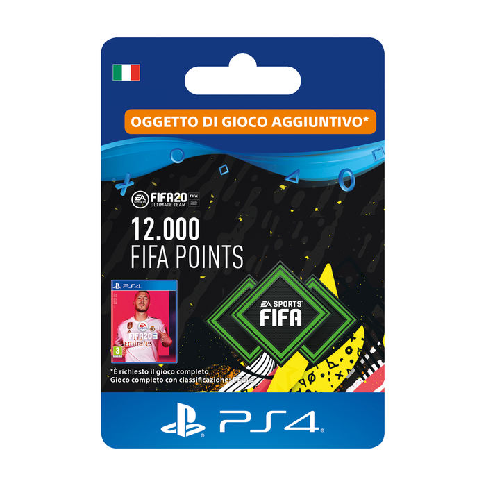 SONY Card PS4 FIFA 20 12.000 punti - thumb - MediaWorld.it