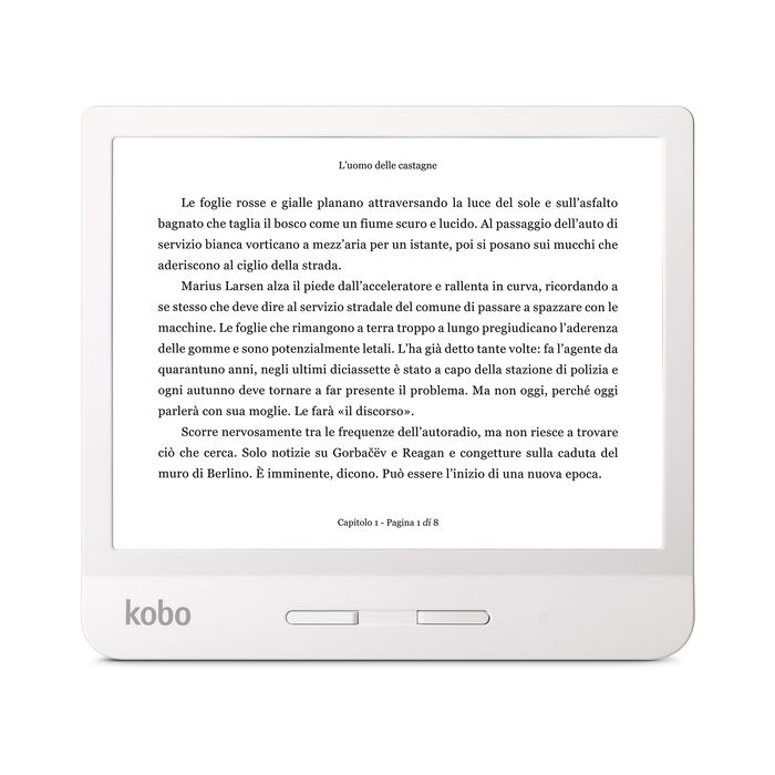 KOBO Libra H2O White - thumb - MediaWorld.it