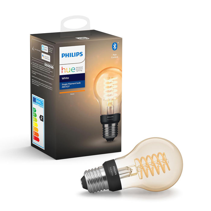 PHILIPS HUE WHITE FILAMENT A60 7W - thumb - MediaWorld.it