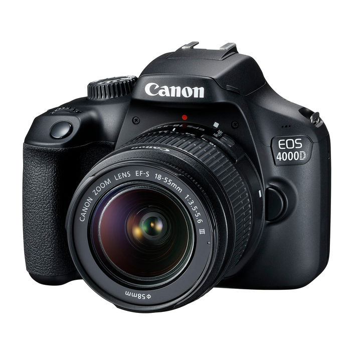 CANON EOS 4000D + 18-55DC III + SD 16GB + Borsa - thumb - MediaWorld.it