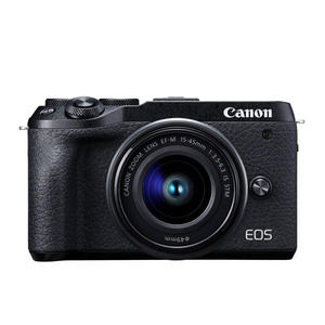 CANON EOS M6 MARK II + EF-M 15-45 MM + EVF DC2 BLACK - MediaWorld.it