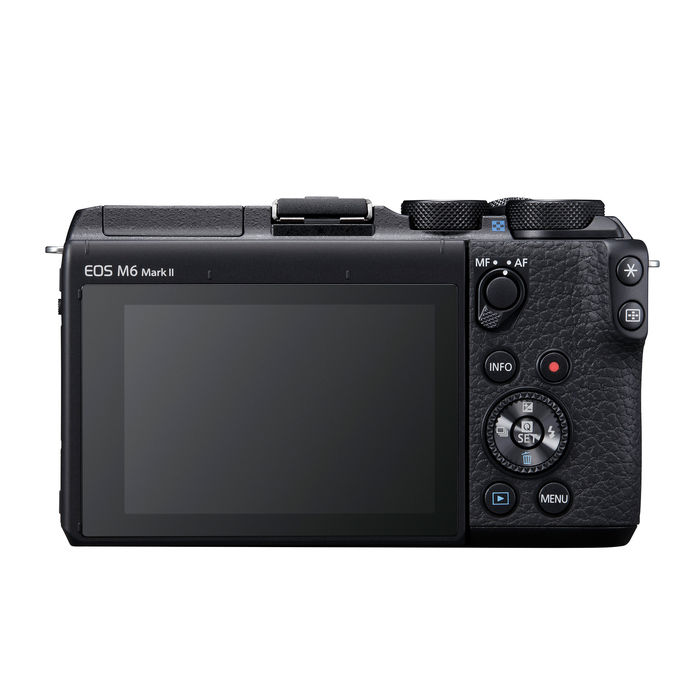 CANON EOS M6 MARK II BODY BLACK - thumb - MediaWorld.it