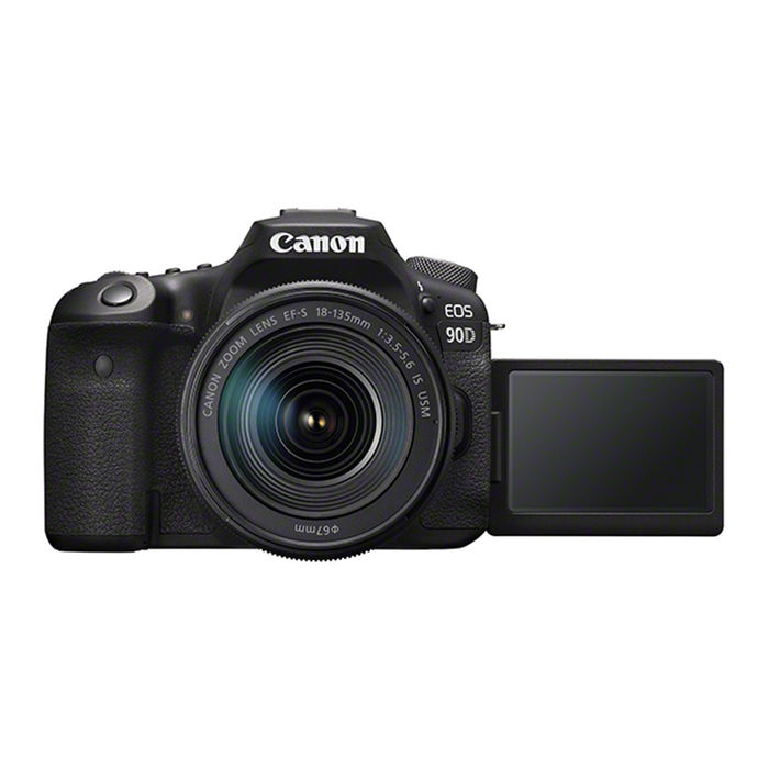 CANON EOS 90D + EF-S 18-135 MM F/3.5-5.6 IS USM BLACK - thumb - MediaWorld.it