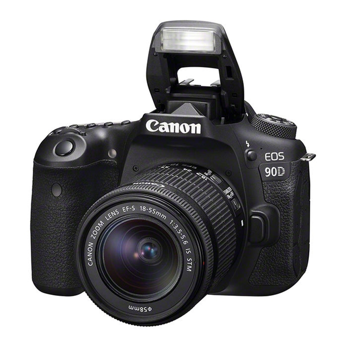 CANON EOS 90D + EF-S 18-55MM F/3.5-5.6 IS STM BLACK - thumb - MediaWorld.it