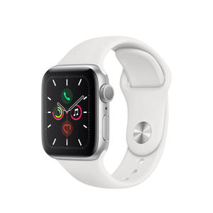APPLE Watch Series 5 GPS 40mm in alluminio color argento - Sport Bianco - MediaWorld.it