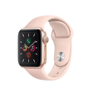 APPLE Watch Series 5 GPS 40mm in alluminio color oro - Sport Rosa sabbia - MediaWorld.it