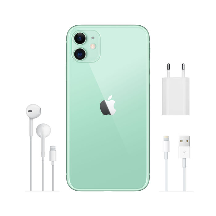 APPLE iPhone 11 128GB Verde - thumb - MediaWorld.it