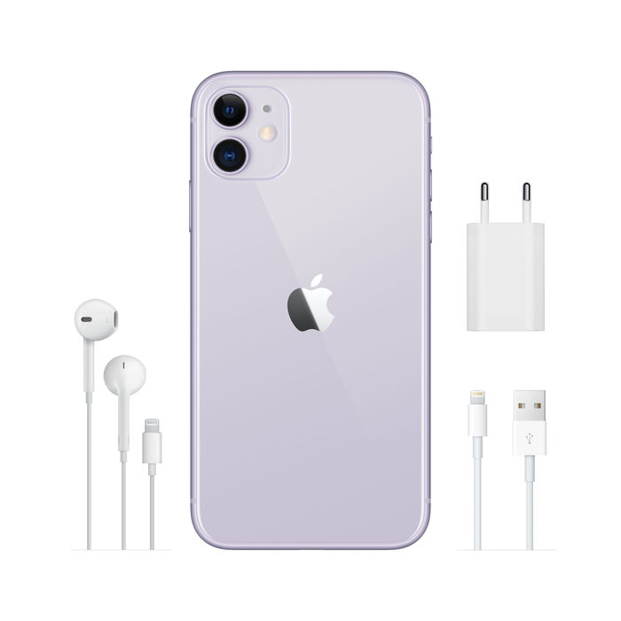 APPLE iPhone 11 128GB Viola - thumb - MediaWorld.it