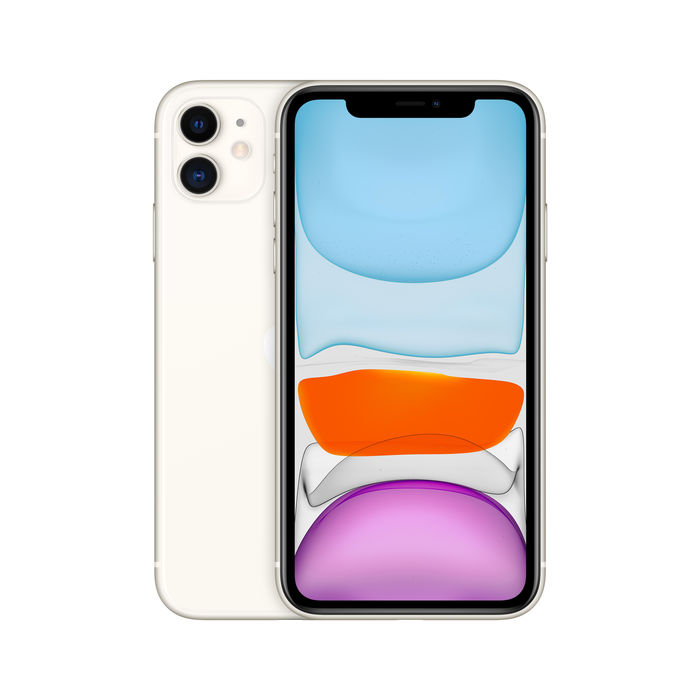 APPLE Custodia in silicone per iPhone 11 - Bianco  Mediaworld.it