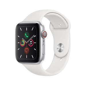 APPLE Watch Series 5 GPS+Cellular 40mm in alluminio color argento - Sport Bianco - MediaWorld.it