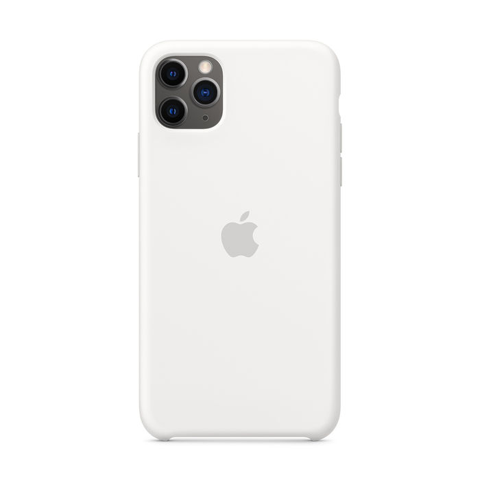 APPLE Custodia in silicone per iPhone 11 Pro Max - Bianco - thumb - MediaWorld.it