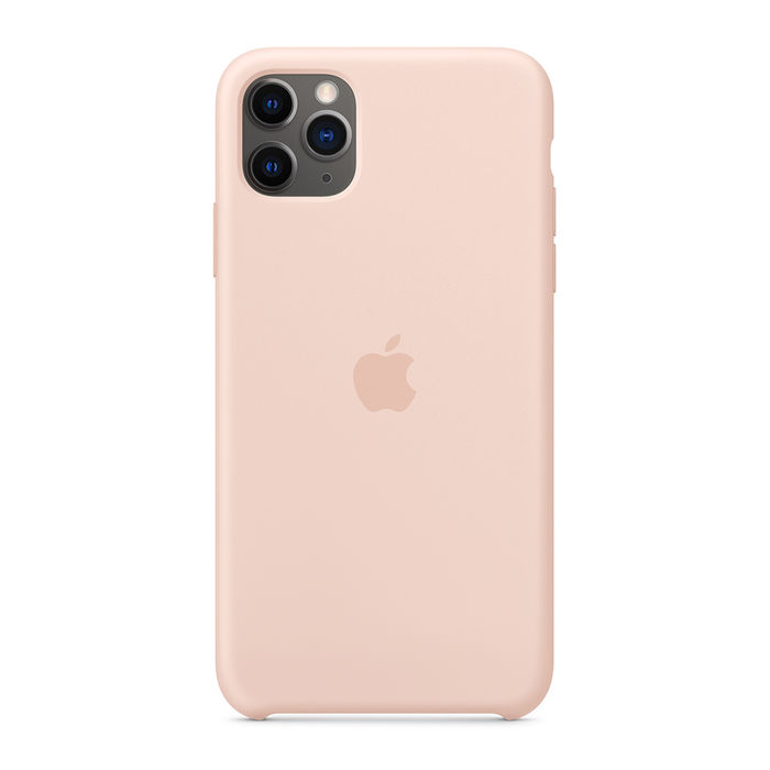APPLE Custodia in silicone per iPhone 11 Pro Max - Rosa sabbia - PRMG GRADING OOCN - SCONTO 20,00% - thumb - MediaWorld.it