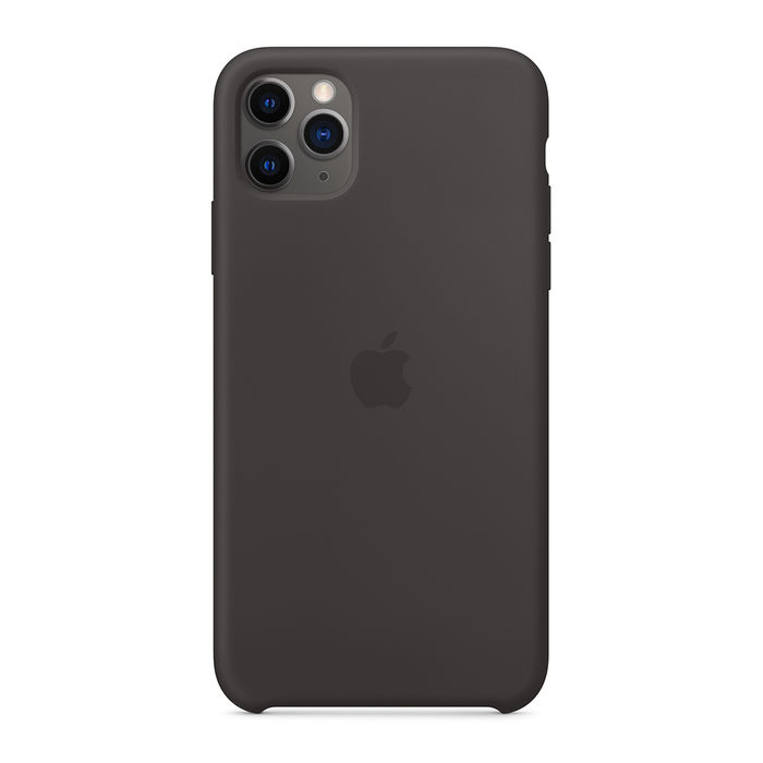 APPLE Custodia in silicone per iPhone 11 Pro Max - Nero - thumb - MediaWorld.it