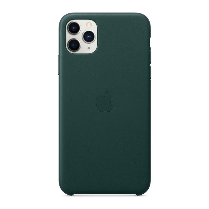 APPLE Custodia in pelle per iPhone 11 Pro Max - Verde foresta - thumb - MediaWorld.it