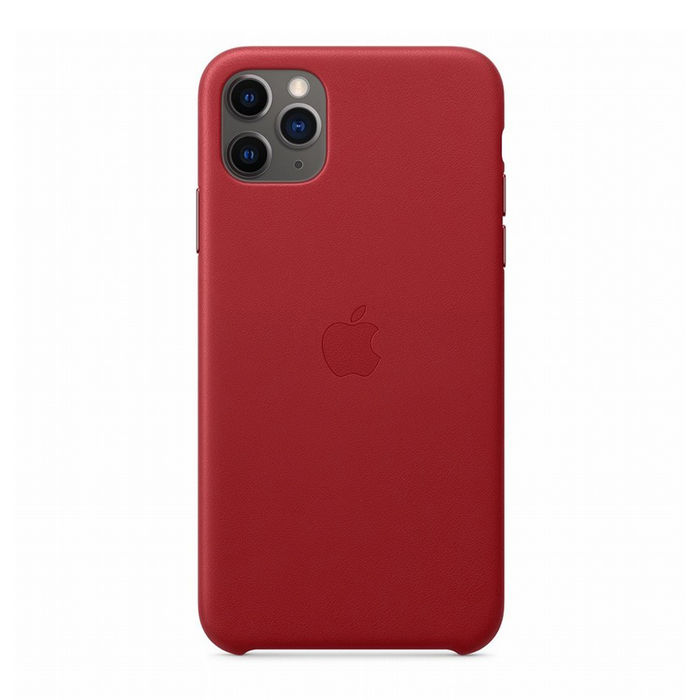 APPLE Custodia in pelle per iPhone 11 Pro Max - (PRODUCT)RED - thumb - MediaWorld.it