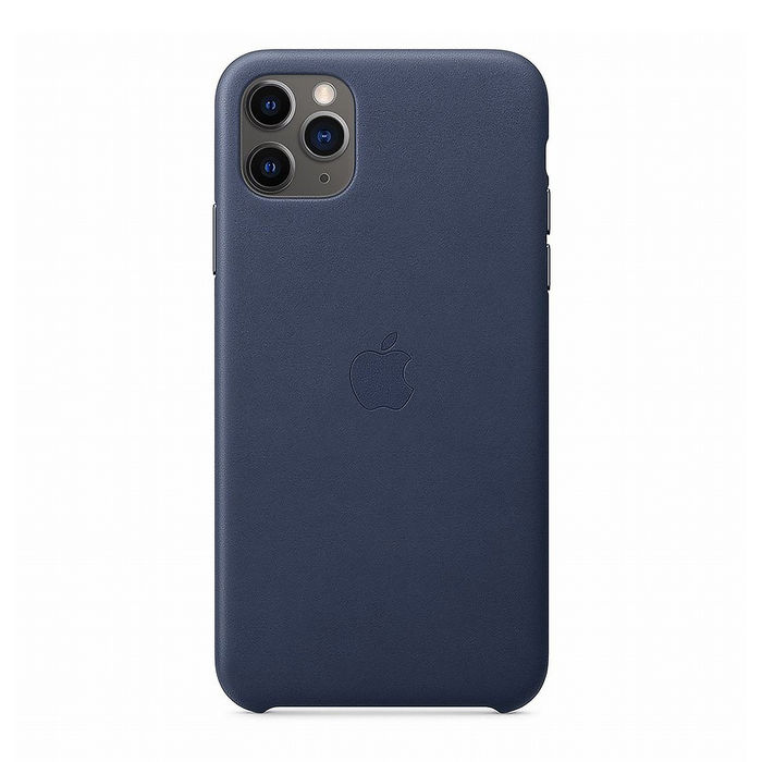 APPLE Custodia in pelle per iPhone 11 Pro Max - Blu notte - thumb - MediaWorld.it