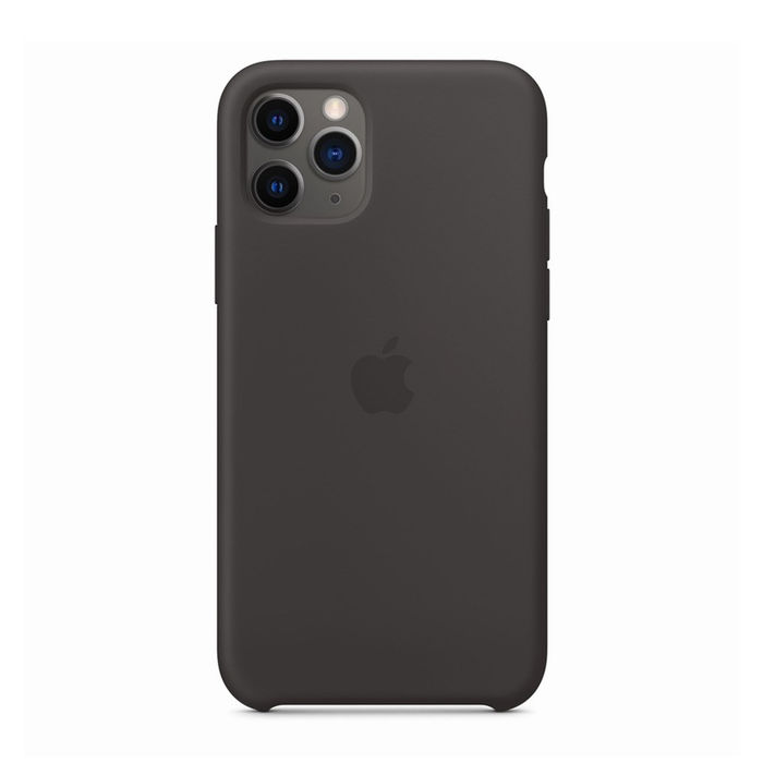 APPLE Custodia in silicone per iPhone 11 Pro - Nero - thumb - MediaWorld.it