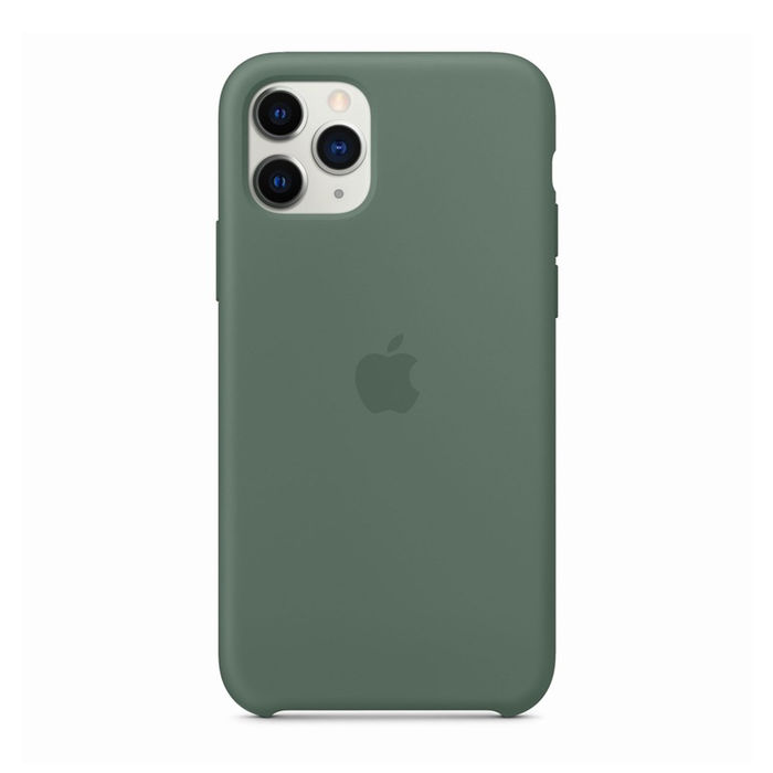 APPLE Custodia in silicone per iPhone 11 Pro - Verde pineta - thumb - MediaWorld.it