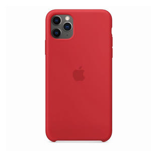 APPLE Custodia in silicone per iPhone 11 Pro Max - (PRODUCT)RED - thumb - MediaWorld.it