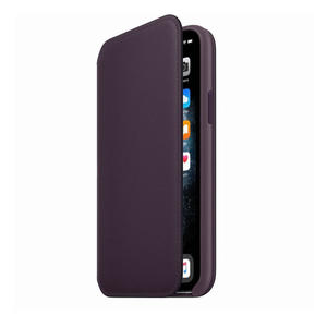 APPLE Custodia folio in pelle per iPhone 11 Pro - Melanzana - MediaWorld.it