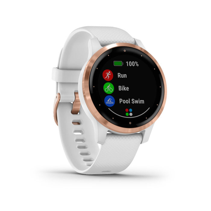 GARMIN Vívoactive 4s White Rose Gold 40mm - thumb - MediaWorld.it