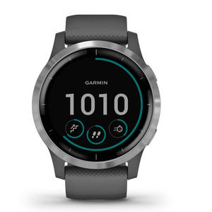 GARMIN Vívoactive 4 Shadow Grey Silver 45mm - MediaWorld.it