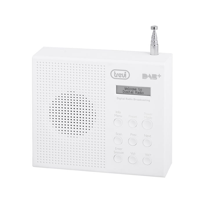 TREVI RADIO DIGITALE DAB+ DAB791R BIANCO - thumb - MediaWorld.it