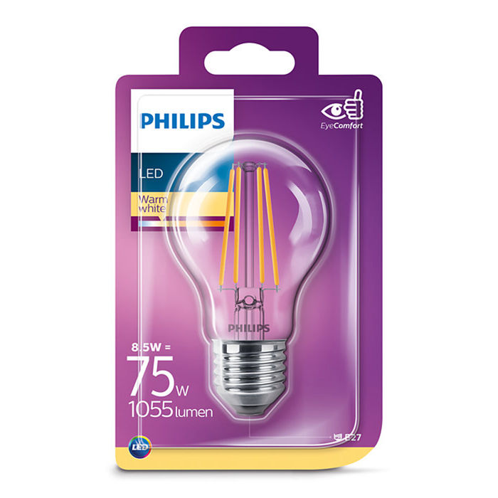 PHILIPS FILAMENTO 75W E27 2700 - thumb - MediaWorld.it