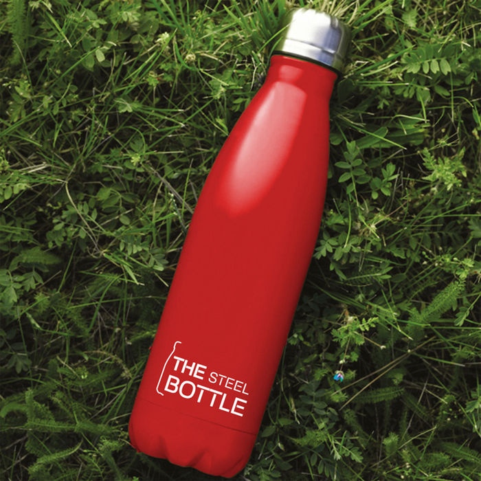 TTEX STEEL BOTTLE ROSSO - thumb - MediaWorld.it