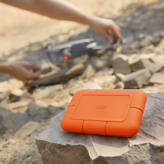 LACIE 1TB RUGGED SSD USB-C - thumb - MediaWorld.it