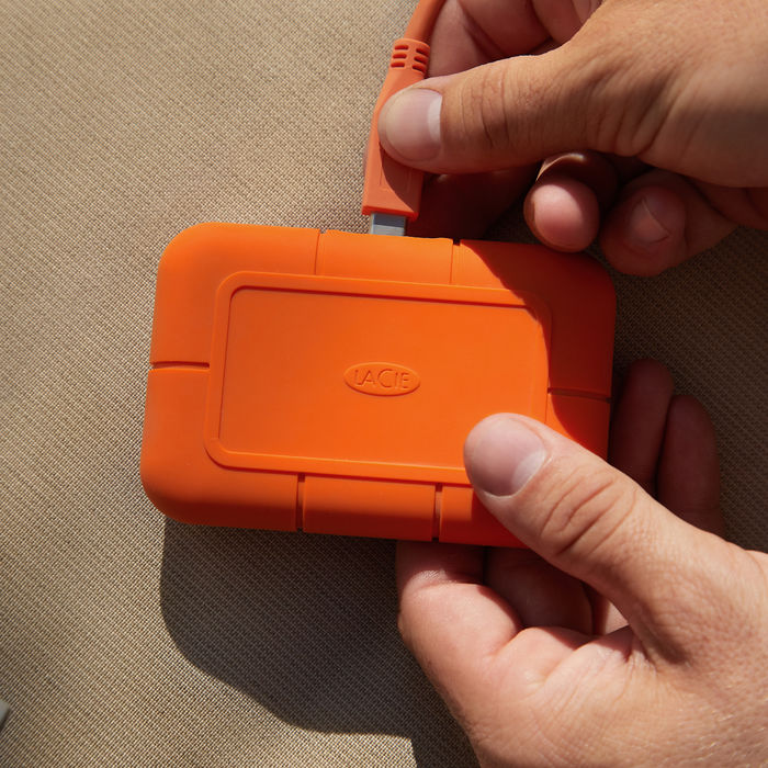 LACIE 2TB RUGGED SSD USB-C - thumb - MediaWorld.it