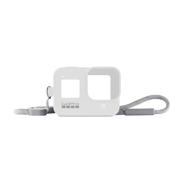 GOPRO Guaina + cordino Hero 8 White - thumb - MediaWorld.it