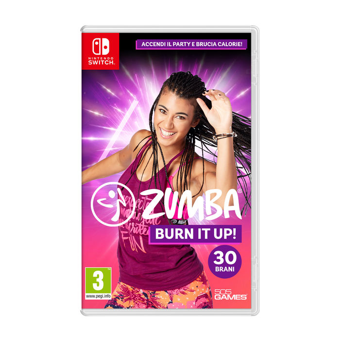 Zumba Burn It Up! - NSW - thumb - MediaWorld.it