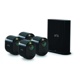 ARLO ULTRA KIT 4 CAMERE + Base Station Black - thumb - MediaWorld.it