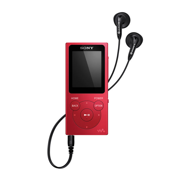 SONY NWE394LR Rosso - thumb - MediaWorld.it