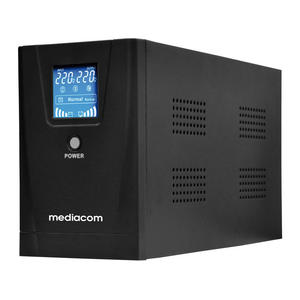 MEDIACOM UPS 1300VA CON DISPLAY - thumb - MediaWorld.it